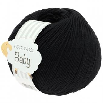 Cool Wool Baby 50g Lana Grossa 278 schwarz