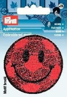 Applikation Gesicht lachend