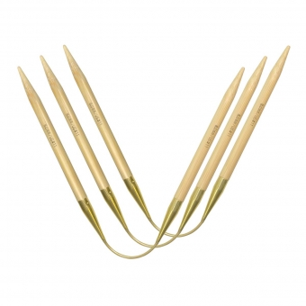 Addi CraSy Trio Bamboo Long 30cm Socken-Stricknadeln 3er-Set 7,0mm x 30cm