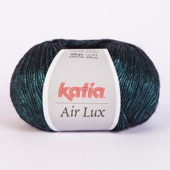 Air Lux von Katia 66 Pastelltürkis-Schwarz