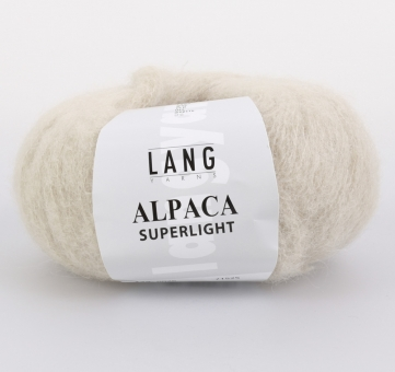 Alpaca Superlight Lang Yarns 026 SAND