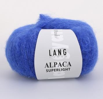 Alpaca Superlight Lang Yarns 006 ROYAL