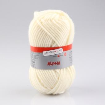 Alpha Wolle Schoeller Stahl 10 natur