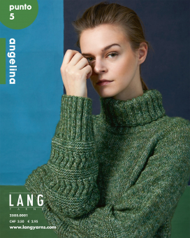 Anleitungsheft Punto 5 Angelina Lang Yarns