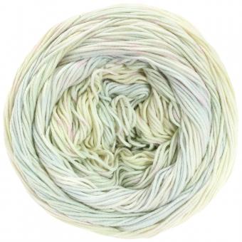 Aruba Lana Grossa 06 Pastellgrün/-gelb/Ecru