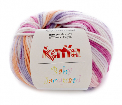 Baby Jacquard von Katia