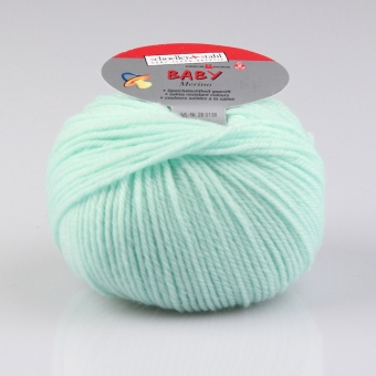 Baby Merino Wolle Schoeller Stahl 3905 jade
