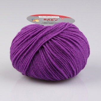 Baby Merino Wolle Schoeller Stahl 3942 lila