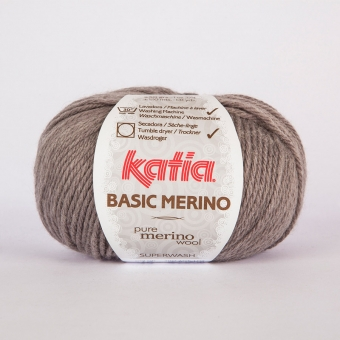 Basic Merino von Katia 13 Mittelgrau