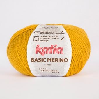 Basic Merino von Katia 41 Senfgelb