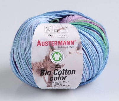 Bio Cotton Color Wolle von Austermann