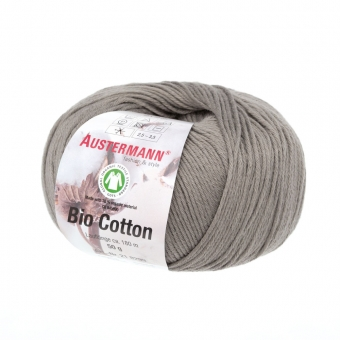 Bio Cotton Austermann 06 taupe