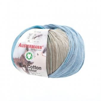 Bio Cotton Color Wolle von Austermann 102 jeans