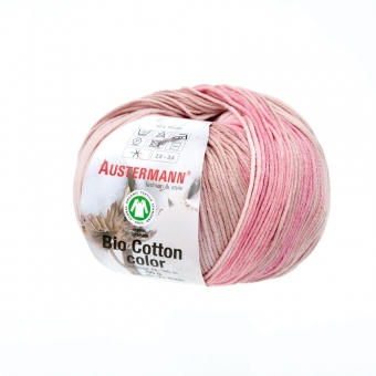 Bio Cotton Color Austermann 105 magnolie