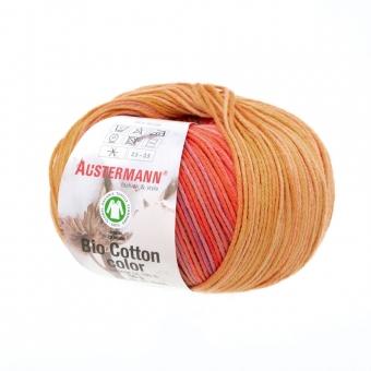 Bio Cotton Color Austermann 106 papaya