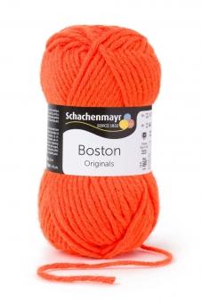 Boston Wolle Schachenmayr 122 neon orange