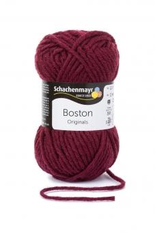 Boston Wolle Schachenmayr 132 burgund