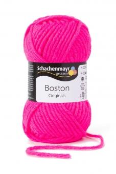 Boston Wolle Schachenmayr 136 neon pink