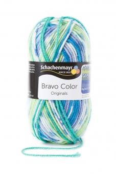 Bravo Color Schachenmayr 2080 aqua jacquard color