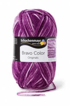 Bravo Color Wolle Schachenmayr 2112 violett denim