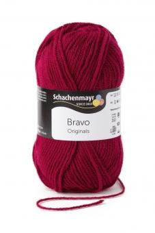Bravo Wolle Schachenmayr 8222 weinrot