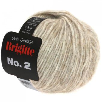 Brigitte No. 2 Lana Grossa 15 beige