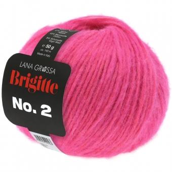 Brigitte No. 2 Lana Grossa 19 neonpink