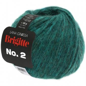 Brigitte No. 2 Lana Grossa 28 Dunkelgrün