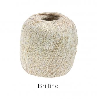 Brillino Lana Grossa 09 Weiß/Gold