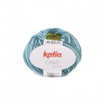 Candy von Katia 677 Grün-Weiß-Blau