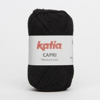 Capri Wolle von Katia 82056 Schwarz