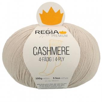 Regia Premium Cashmere Sockenwolle 4-fädig 100g