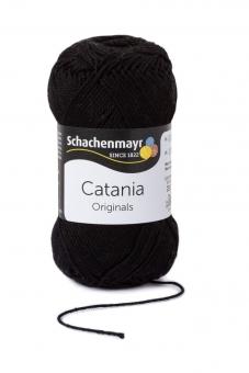 Catania Wolle Schachenmayr 110 schwarz