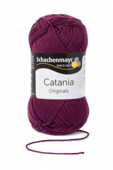 Catania Wolle Schachenmayr 394 burgund