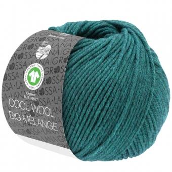 Cool Wool Big Melange Lana Grossa 205 Petrol meliert