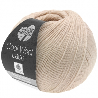 Cool Wool Lace Lana Grossa 13 Grège