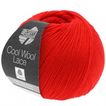 Cool Wool Lace Lana Grossa 22 Feuerrot