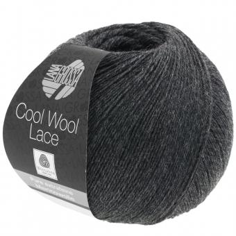 Cool Wool Lace Lana Grossa 25 Anthrazit