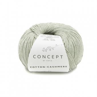 Cotton Cashmere Katia Concept 77 Grün