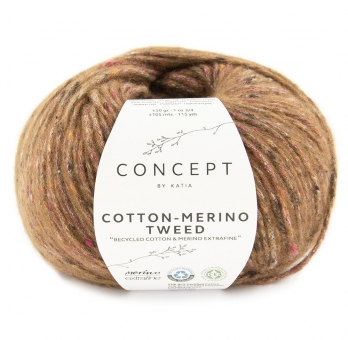 Cotton Merino Tweed Katia Concept