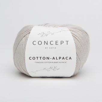 Cotton Alpaca Katia Concept 82 Beigegrau