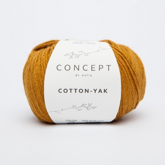 Cotton Yak Wolle von Katia 106 Ocker