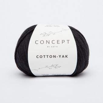 Cotton Yak Katia Concept 114 Schwarz