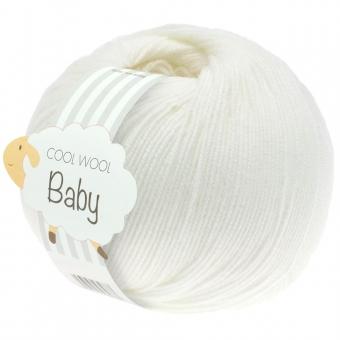 Cool Wool Baby 50g Lana Grossa 207 weiß