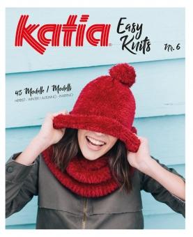 Easy Knits Anleitungsheft Nr. 6 von Katia