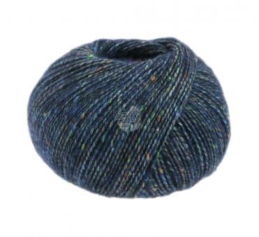 Ecopuno Tweed Lana Grossa 301 Dunkelblau meliert