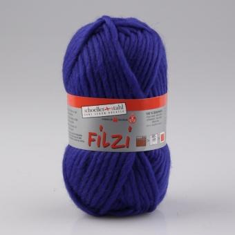 Filzi Uni Filzwolle Schoeller Stahl 21 royal