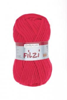 Filzi Uni Filzwolle Schoeller Stahl 03 rot