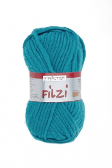Filzi Uni Filzwolle Schoeller Stahl 32 türkis