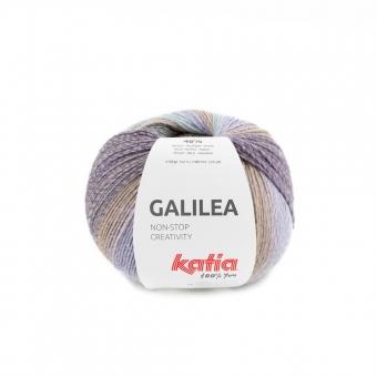 Galilea von Katia 305 Perlbrombeer-Khaki-Pastell